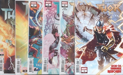 Picture of THOR (2018) #1-6 1ST PRINT SET NM