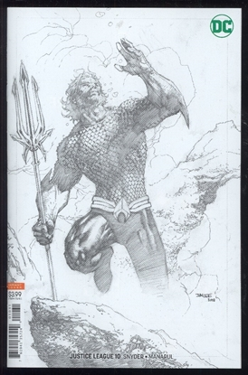 Picture of JUSTICE LEAGUE #10 JIM LEE PENCIL VAR ED (DROWNED EARTH)