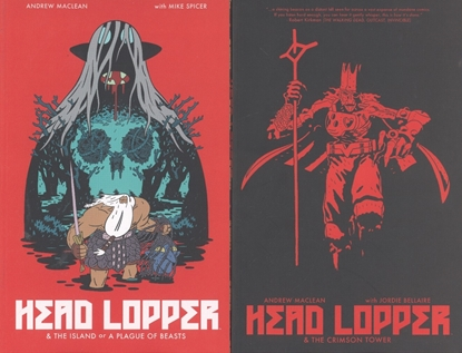 Picture of HEAD LOPPER VOLS 1 2 & 3 TPB SET