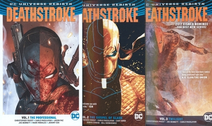 Picture of DEATHSTROKE VOL 1 2 3 4 5 TPB SET