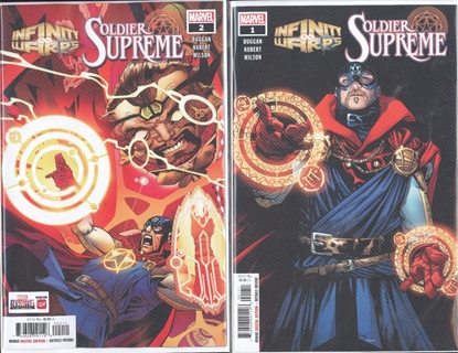 Picture of INFINITY WARS SOLDIER SUPREME #1 & 2 SET NM