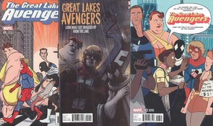 Picture of GREAT LAKES AVENGERS #1 2 3 1-3 1:25 VARIANT COVER SET NM
