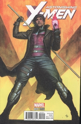 Picture of ASTONISHING X-MEN #4 GRANOV CHARACTER VAR