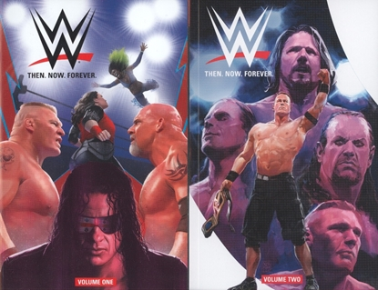 Picture of WWE THEN NOW FOREVER VOL 1 & 2 TPB SET