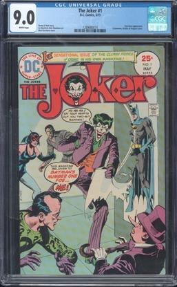 Picture of JOKER (1975) #1 CGC 9.0 VF/NM
