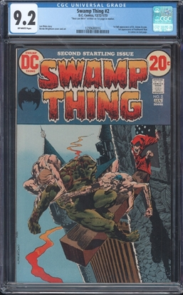 Picture of SWAMP THING (1972) #2 CGC 9.2 NM-