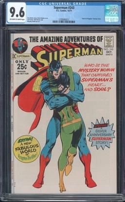 Picture of SUPERMAN (1939) #243 CGC 9.6 NM+