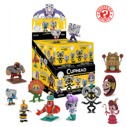 Picture of FUNKO MYSTERY MINI GAMES CUPHEAD AND MUGMAN