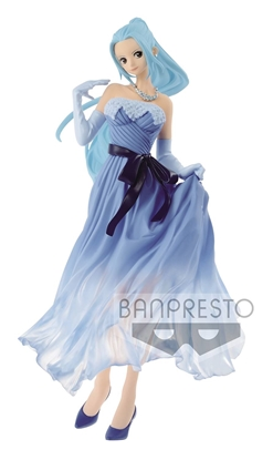 Picture of ONE PIECE LADY EDGE WEDDING NEFELTARI BLUE DRESS FIG (C: 1-1
