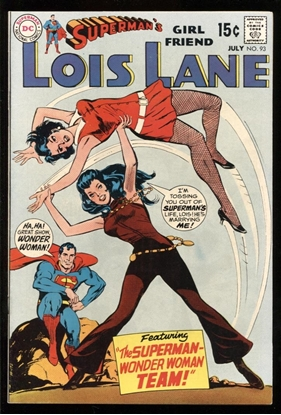 Picture of SUPERMAN'S GIRLFRIEND LOIS LANE (1958) #93 8.5 VF+
