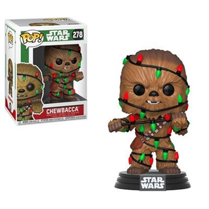 Picture of FUNKO POP STAR WARS CHEWBACCA #278 WITH LIGHTS NEW VINYL FIGURE