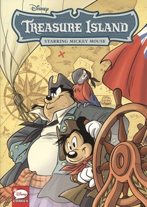 Picture of DISNEY CLASSICS TREASURE ISLAND STARRING MICKEY MOUSE (C: 1-