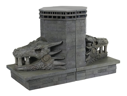 Picture of GOT DRAGONSTONE GATE DRAGON BOOKENDS (C: 1-1-2)