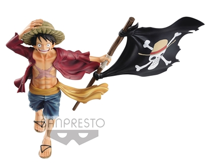 Picture of ONE PIECE MAGAZINE LUFFY FIG (C: 1-1-2)