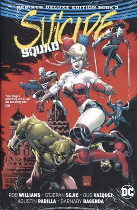 Picture of SUICIDE SQUAD REBIRTH DLX COLL HC BOOK 03