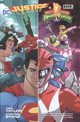 Picture of JUSTICE LEAGUE POWER RANGERS TP