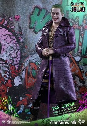Picture of JOKER PURPLE COAT VERSION HOT TOY SIDESHOW