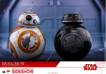 Picture of SIDESHOW HOT TOYS BB-8 and BB-9E Star Wars: