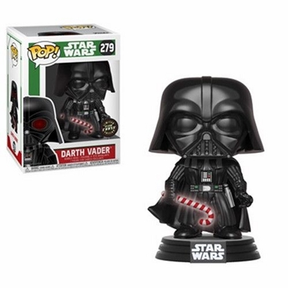 Picture of FUNKO POP STAR WARS DARTH VADER #279 GLOW CHASE EDITION NEW VINYL FIGURE