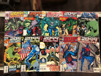 Picture of 2099 UNLIMITED (1993) #1-10 SET