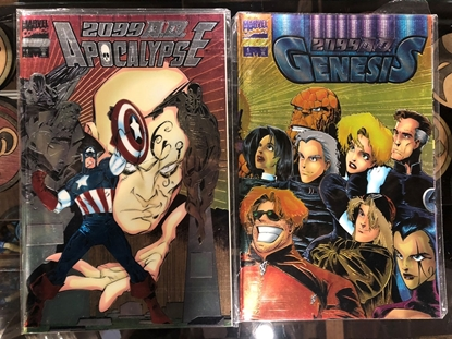 Picture of 2099 A.D. APOCALYPSE #1 & GENESIS #1 SET