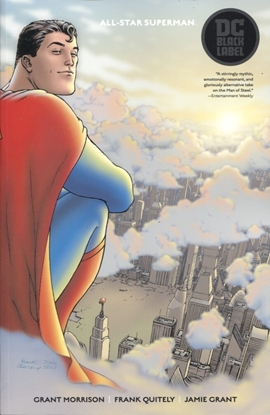 Picture of ALL STAR SUPERMAN TP BLACK LABEL
