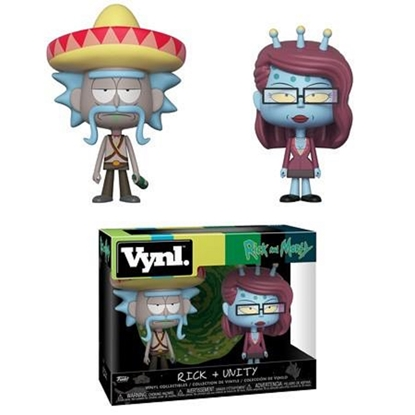 Picture of FUNKO VYNL. RICK AND MORTY RICK + UNITY 2PK NEW VINYL FIGURE