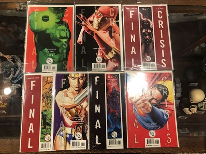 Picture of FINAL CRISIS #1-7 SET