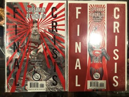 Picture of FINAL CRISIS SUPERMAN BEYOND 3D #1-2