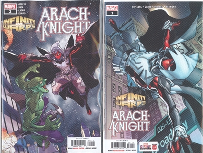 Picture of INFINITY WARS ARACHKNIGHT #1 & 2 1ST PRINT SET NM