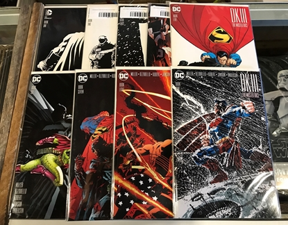 Picture of DARK KNIGHT III MASTER RACE #1-9 COMPLETE 1ST PRINT SET