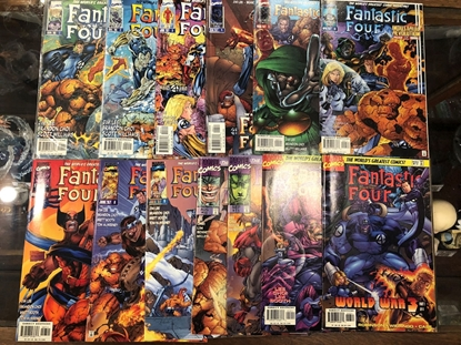 "Picture of FANTASTIC FOUR (1996) #1-13 ""HEROES REBORN"" SET"