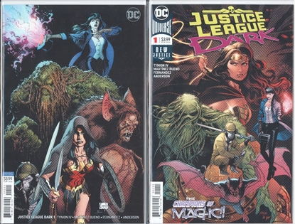 Picture of JUSTICE LEAGUE DARK #1 / 1ST PRINT A & B VARIANT COVER SET NM