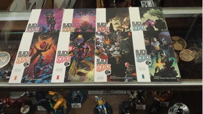 Picture of BLACK SCIENCE VOL 1 2 3 4 5 6 7 8 & 9 TPB SET