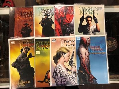 """Picture of STEPHEN KING: DARK TOWER """"GUNSLINGER"""" #1-5 + SKETCHBOOK"""