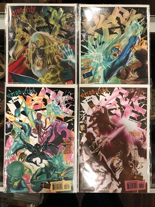 Picture of ASTRO CITY DARK AGE BOOK THREE #1 2 3 4 SET