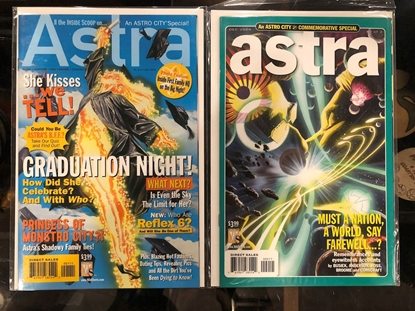 Picture of ASTRA (ASTRO CITY SPECIAL) #1 & 2 SET