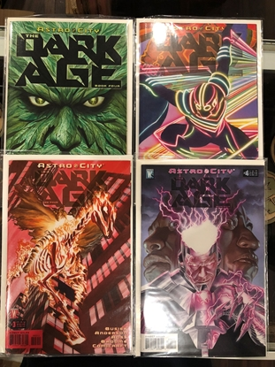 Picture of ASTRO CITY DARK AGE BOOK FOUR #1 2 3 4 SET