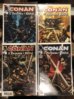 Picture of CONAN AND THE DEMONS OF KHITAI #1 2 3 4  SET