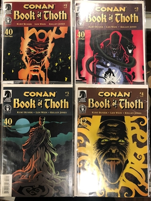 Picture of CONAN BOOK OF THOTH #1 2 3 4  SET