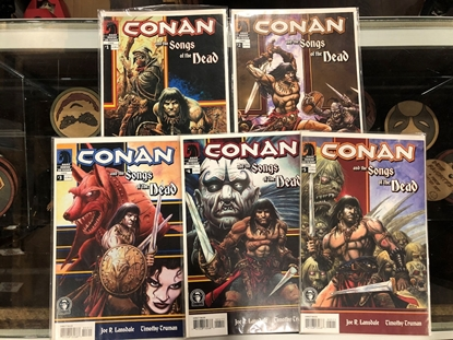 Picture of CONAN AND THE SONGS OF THE DEAD #1 2 3 4 5 SET