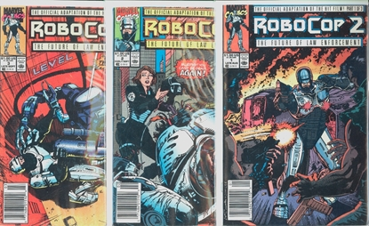 Picture of ROBOCOP 2 #1-3 1ST PRINT SET VF+