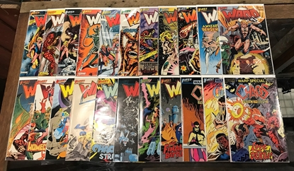 Picture of WARP (1983) #1-19 + SPECIALS #1-3 VF