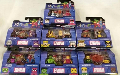Picture of MARVEL MINIMATES LOT OF 7 NEW FIGURES