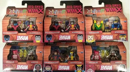 Picture of MARVEL MINIMATES LOT OF 6 NEW FIGURES