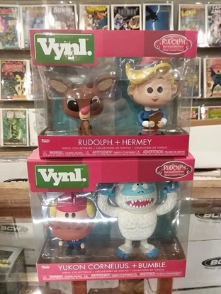 Picture of FUNKO VYNL. RUDOLPH THE RED-NOSED REINDEER 2PK SET OF 2 NEW VINYL FIGURES