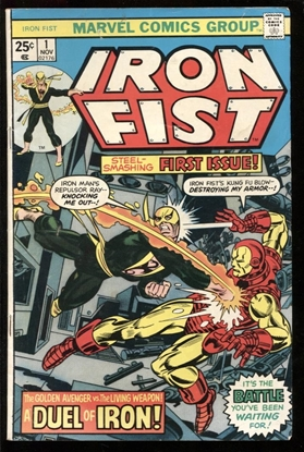 Picture of IRON FIST (1975) #1 5.0 VG/FN