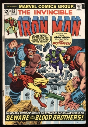 Picture of IRON MAN (1968) #55 2.5 GD+