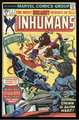 Picture of INHUMANS (1975) #1 8.0 VF