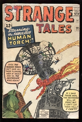 Picture of STRANGE TALES (1951) #101 2.5 GD+